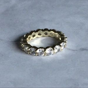 Jewelry - 14K Gold 6.00 CTTW CZ Eternity Band